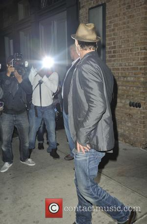 Hollywood superstar Brad Pitt was spotted out and about in Manhattan, New York, United States - Tuesday 14th October 2014