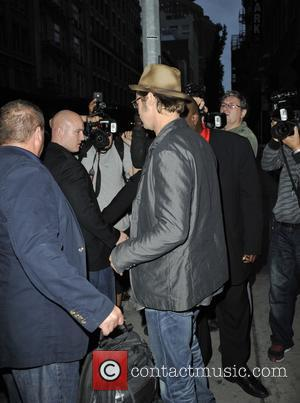 Brad Pitt Surprises Moviegoers In New York City