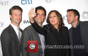 Peter Scanavino, Danny Pino, Mariska Hargitay and Raul Esparana