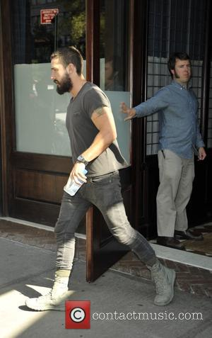 Shia Labeouf - Shia Labeouf leaving his hotel - Manhattan, New York, United States - Tuesday 14th October 2014