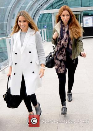 Rachel Stevens and Una Foden - Una Foden and Rachel Stevens arriving at Dublin Airport at Dublin Airport - Dublin,...