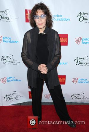Lily Tomlin - Actors and Others for Animals  - Arrivals - Los Angeles, California, United States - Tuesday 14th...