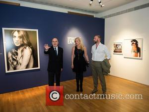 Anke Degenhard and Mat Humphrey - Photographs from Bryan Adams' art exhibition 'EXPOSED' in Cascais, Portugal - Tuesday 14th October...