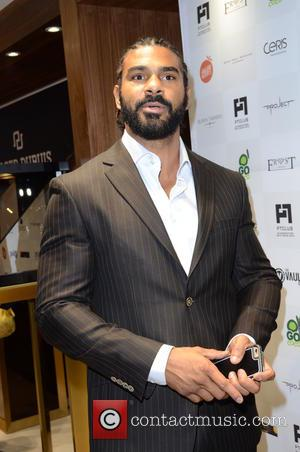 David Haye - British heavyweight boxer David Haye along with other celebs were photographed at the PT Club launch party...