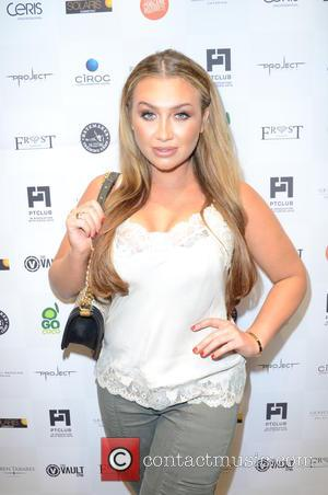 Lauren Goodger - British heavyweight boxer David Haye along with other celebs were photographed at the PT Club launch party...