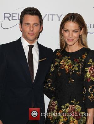 James Marsden and Michelle Monaghan