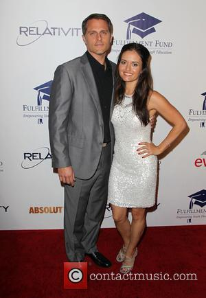 Danica Mckellar and Scott Sveslosky