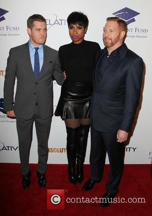 Michael Bublé, Jennifer Hudson and Ryan Kavanaugh - The Beverly Hilton Hotel was the location for the 20th Annual Fulfillment...