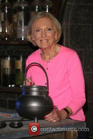 Mary Berry - A variety of British celebrities were photographed at the Harry Potter studio tour as it opened the...