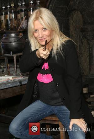 Gaby Roslin - A variety of British celebrities were photographed at the Harry Potter studio tour as it opened the...