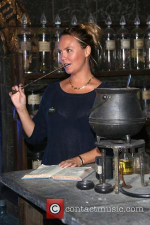 Charlie Brooks - A variety of British celebrities were photographed at the Harry Potter studio tour as it opened the...