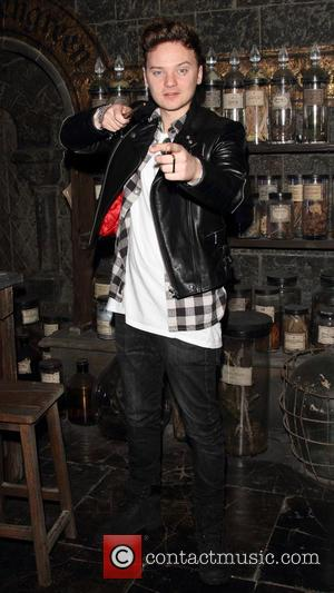 Conor Maynard - A variety of British celebrities were photographed at the Harry Potter Studio Tour Dark Arts Launch in...