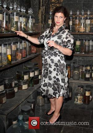 Kirstie Allsopp - A variety of British celebrities were photographed at the Harry Potter Studio Tour Dark Arts Launch in...