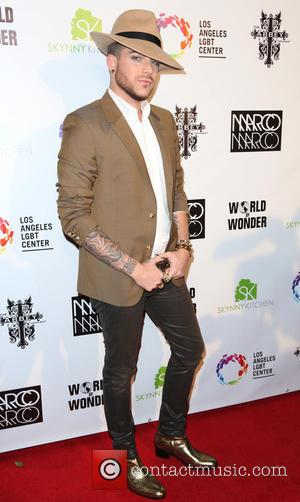 Adam Lambert - Marco Marco: Collection Three 2015 Runway Presentation - Los Angeles, California, United States - Tuesday 14th October...
