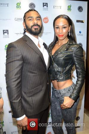 David Haye and Guest - Celebrities attend David Haye's PT Club launch party - London, United Kingdom - Tuesday 14th...