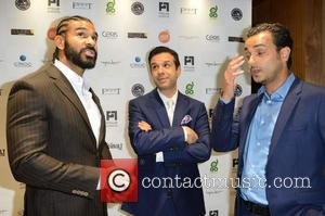 David Haye and Guests - Celebrities attend David Haye's PT Club launch party - London, United Kingdom - Tuesday 14th...