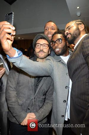 Jeremy Piven, Ruben Tabares, Tinie Tempah and David Haye - Celebrities attend David Haye's PT Club launch party - London,...