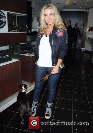 Meg Mathews - Celebrities attend David Haye's PT Club launch party - London, United Kingdom - Tuesday 14th October 2014