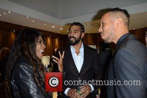 Sinitta, David Haye and Ruben Tabares - Celebrities attend David Haye's PT Club launch party - London, United Kingdom -...