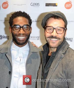Tinie Tempah and Jeremy Piven - Celebrities attend David Haye's PT Club launch party - London, United Kingdom - Tuesday...