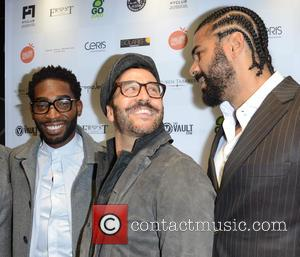 Tinie Tempah, Jeremy Piven and David Haye