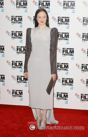 Andrea Riseborough - LFF: Silent Storm - official screening - London, United Kingdom - Tuesday 14th October 2014
