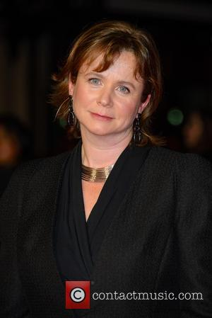 Emily Watson - Photographs from the British Film Institute's London Film Festival Gala Screening of 'Testament of Youth' in London,...