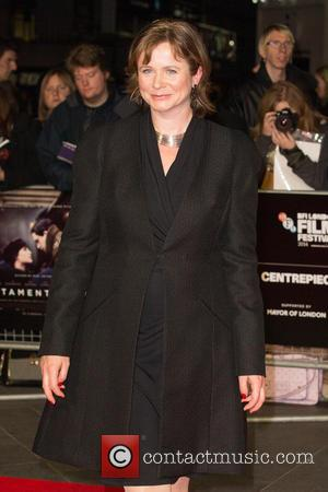 Emily Watson - Photographs from the British Film Institute's London Film Festival Centrepiece Gala: Testament of Youth at Odeon Leicester...