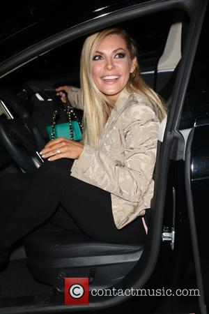 Crystal Hefner - Photos of stars arriving at the Art Hearts Fashion show at Los Angeles Fashion Week Spring/Summer 2015...