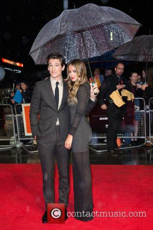 Miles Teller and Keleigh Sperry - BFI London Film Festival at Odeon Leicester Square - London, United Kingdom - Wednesday...