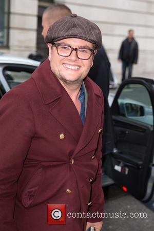 Alan Carr - Celebrities at BBC Radio 2 at BBC Portland Place - London, United Kingdom - Wednesday 15th October...