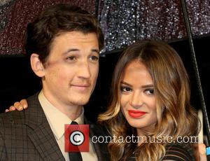 Miles Teller and Keleigh Sperry - Photographs from the British Film Institute's London Film Festival Accenture Gala Premiere of 'Whiplash'...