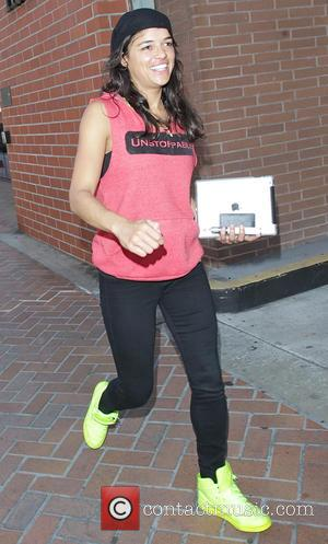 Michelle Rodriguez - Michelle Rodriguez out in Beverly Hills - Los Angeles, California, United States - Wednesday 15th October 2014