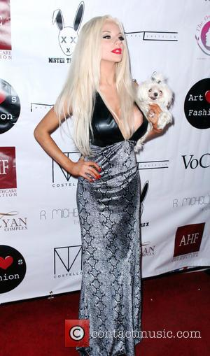 Courtney Stodden - Shots from the Art Heart Fashion Show as stars Arrived at the Taglyan Complex in Los Angeles,...