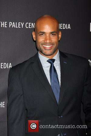Boris Kodjoe - Stars of the new comedy parody movie 'Real Husbands of Hollywood' took to the red carpet at...