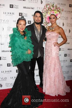Sue Wong, Dave Navarro and Katie Cleary