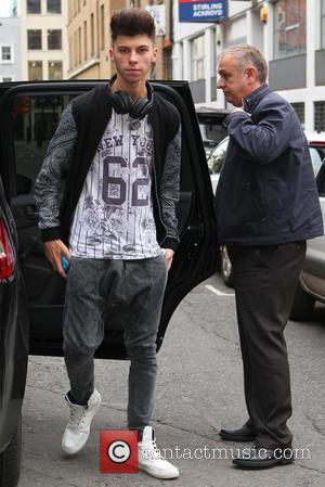 Stereo Kicks and James Graham - X factor dance studio - London, United Kingdom - Wednesday 15th October 2014