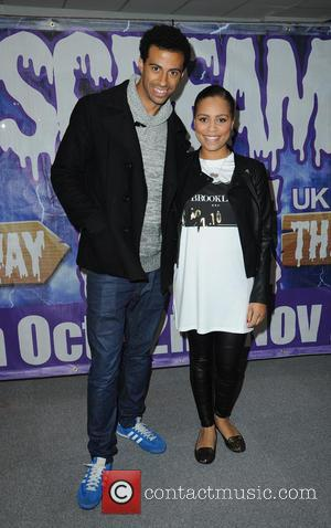 Luke Britton and Coronation Street Cast - Scream Park UK Launch - Manchester, United Kingdom - Thursday 16th October 2014