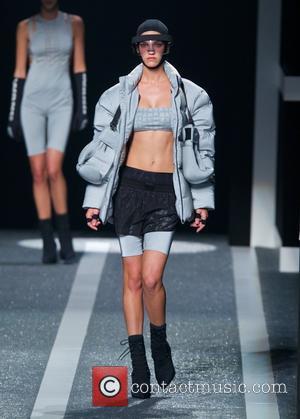 Alexander Wang and Model