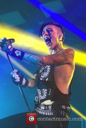 Black Veil Brides - American rock band Black Veil Brides gave a live performance at the Barrowlands Ballroom in Glasgow,...
