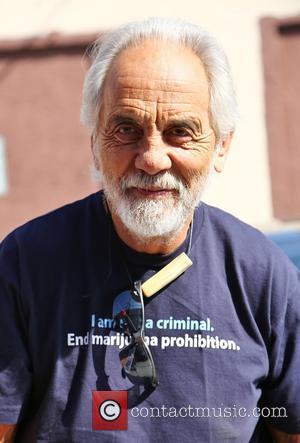 Tommy Chong - Celebrities from the current season of 'Dancing With The Stars' spotted outside the rehearsal studios in Los...