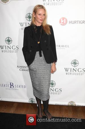 Uma Thurman - Photographs of various stars as they arrived at the Wings WorldQuest Women Of Discovery Awards Gala 2014...