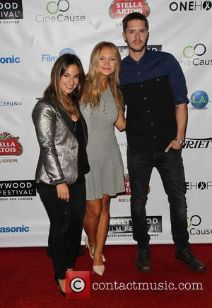 Sas Goldberg, Vanessa Ray and Jake Wilson - 2014 Hollywood Film Festival - Opening Night Gala and Q&A at ArcLight...