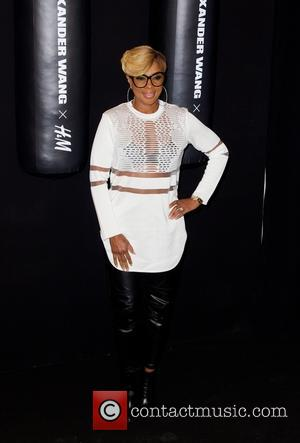 Mary J. Blige - Photos of the arrivals at Alexander Wang's X H&M collection Launch in New York City, New...