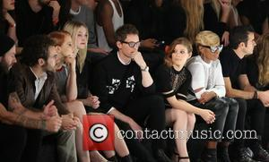 Eddie Redmayne, Kate Mara and Mary J Blige - Photos of the audience and arrivals at Alexander Wang's X H&M...