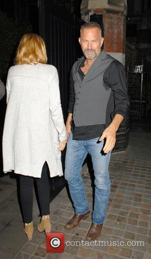 Kevin Costner - Celebrities arriving at Chiltern Firehouse at Marylebone - London, United Kingdom - Thursday 16th October 2014