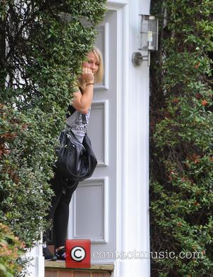 Chloe Madeley - Chloe Madeley departure - London, United Kingdom - Thursday 16th October 2014