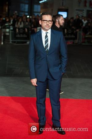 Steve Carell - LFF: Foxcatcher - American Express gala at Odeon Leicester Square - London, United Kingdom - Thursday 16th...