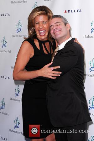 Andy Cohen and Hoda Kotb