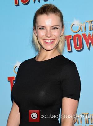 Betty Gilpin - On The Town Opening Night - Arrivals at Lyric Theatre, - New York, New York, United States...